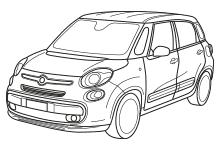 FIAT 500 L (2012-) / LIVING (2013-)
